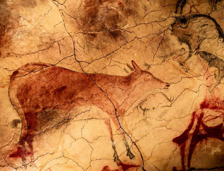 Grand Cerf Altamira Cave Painting