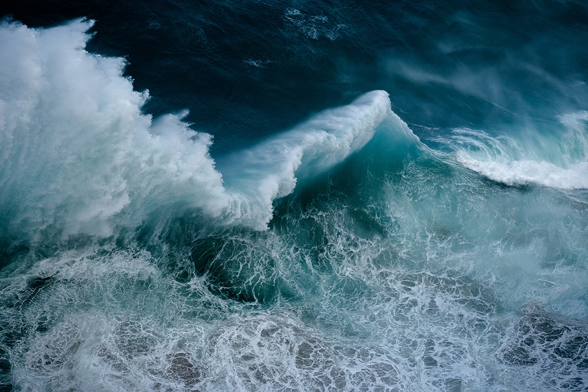 Photographie de vague par Luke Shadbolt