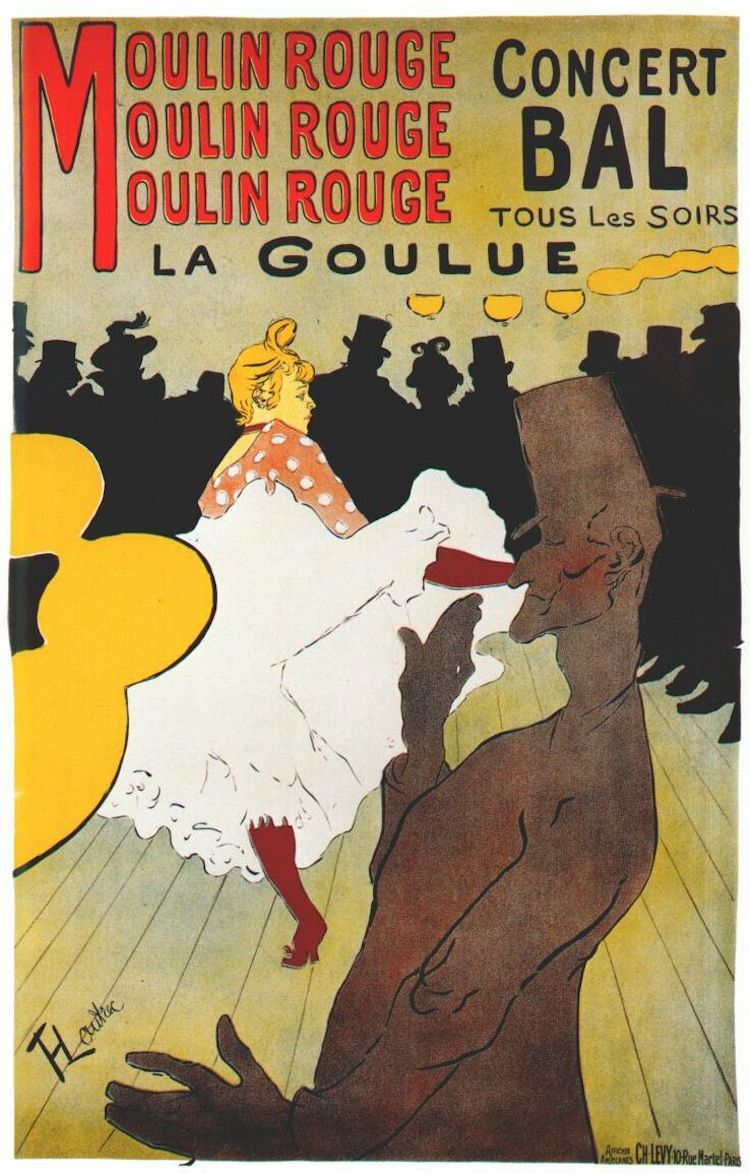 Affiche du Moulin Rouge