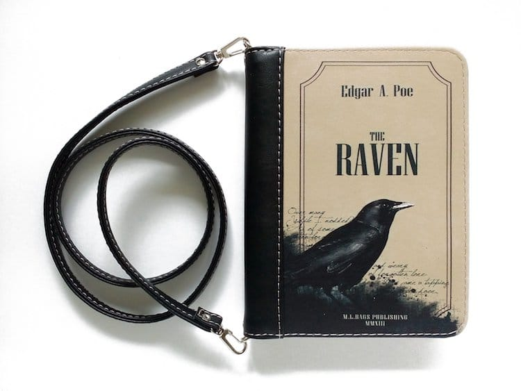 The Raven Book Clutch