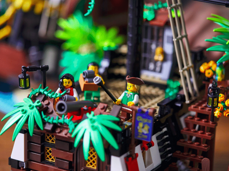 Pirates de la baie de Barracuda par LEGO