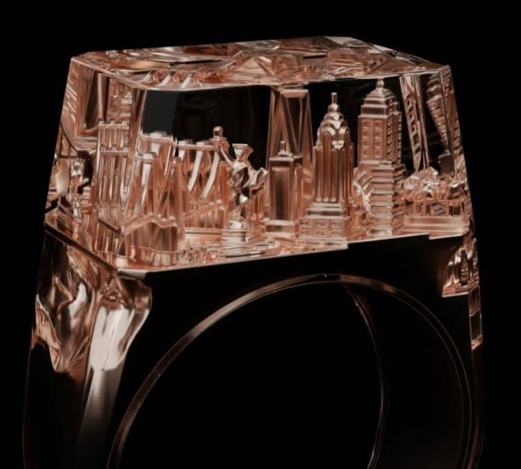 Bague Teti Architecture par Art is Therapy