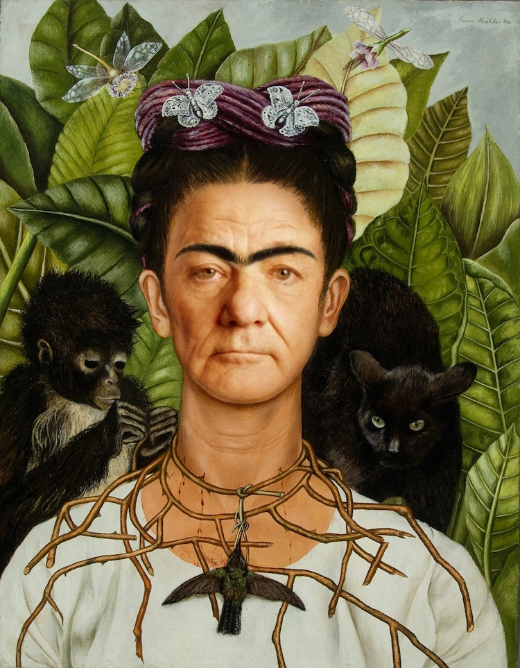 Bill Murray comme Frida Kahlo