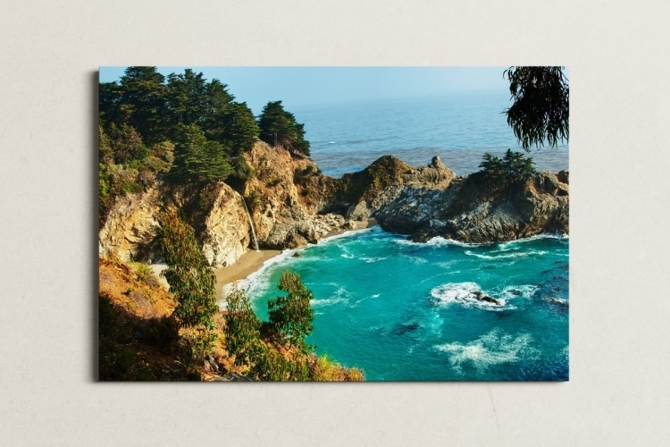 Art mural Big Sur