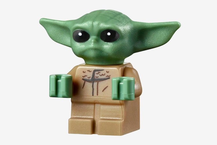 Ensemble LEGO Baby Yoda The Child Star Wars