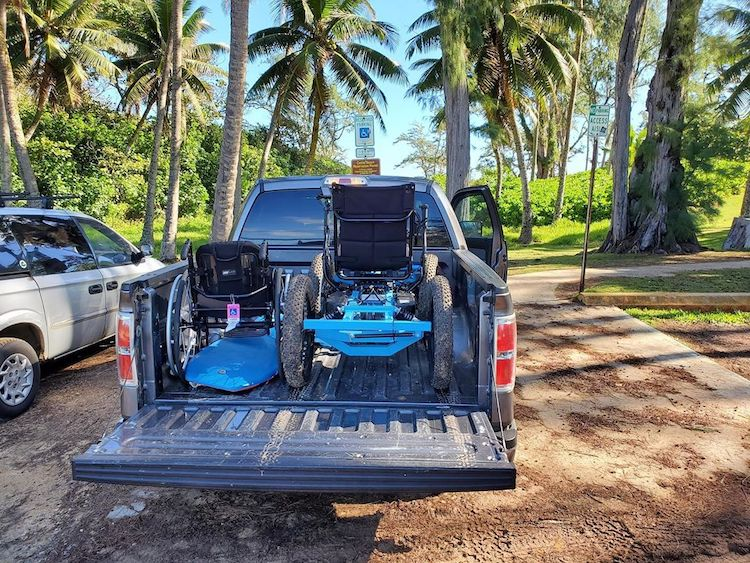 Le fauteuil roulant Rig Off Road