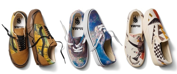 Chaussures Vans MoMA Collaboration