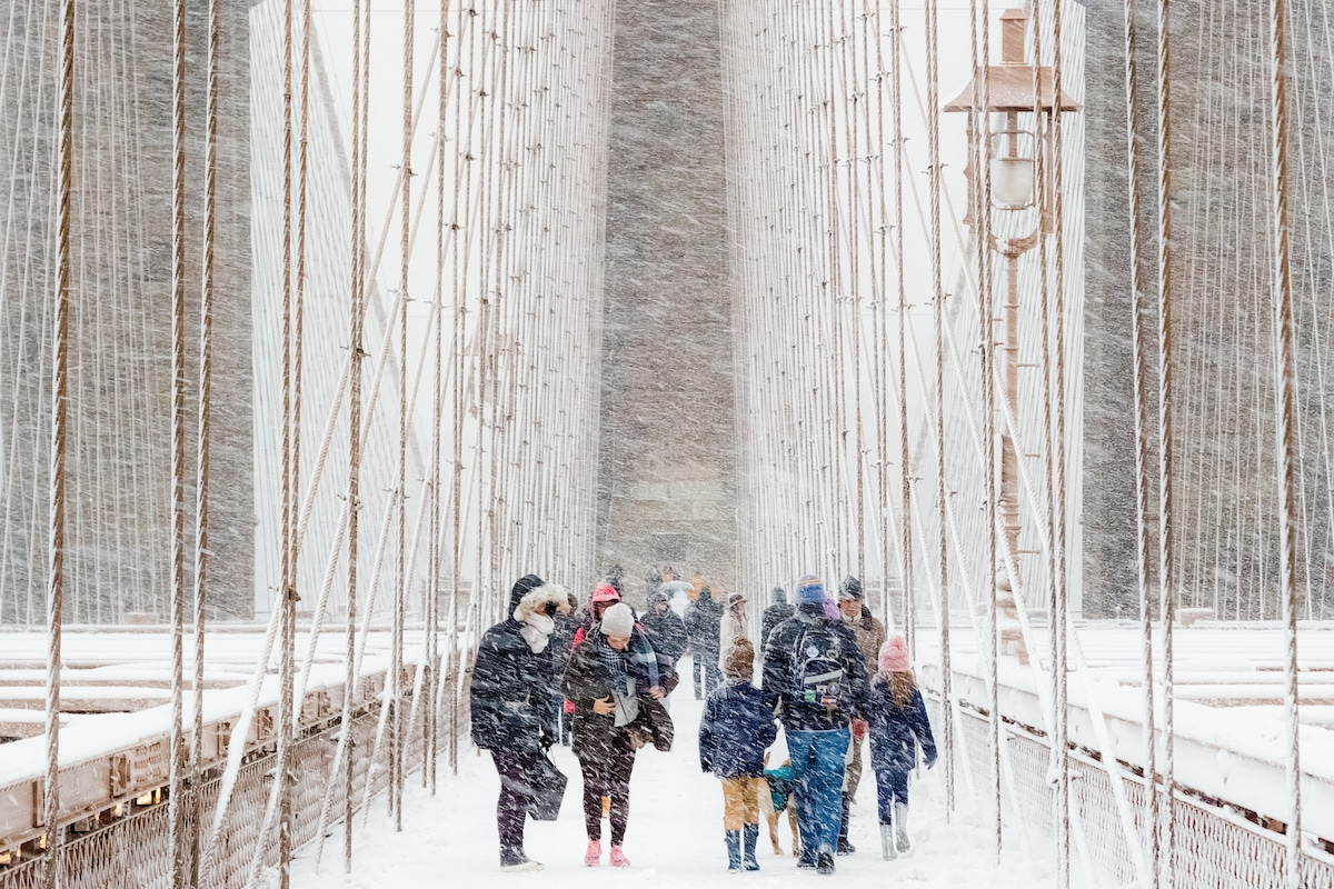 Blizzard à Brooklyn