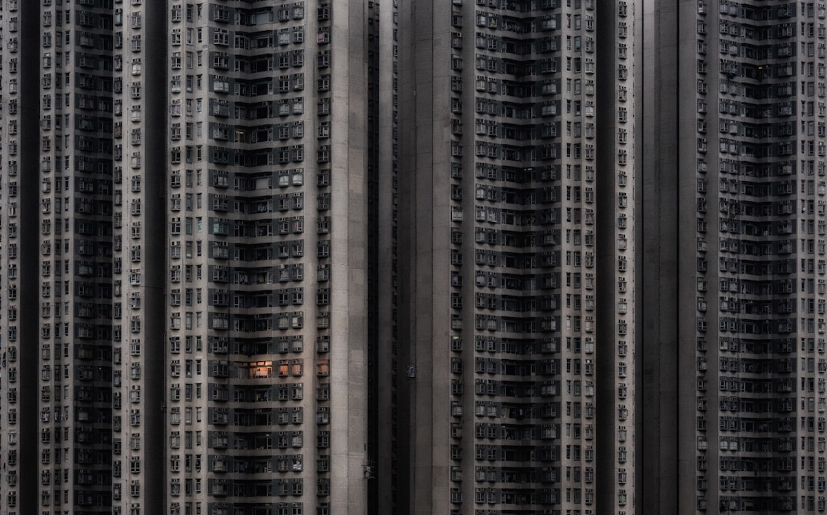 Immeuble d'appartements à Hong Kong