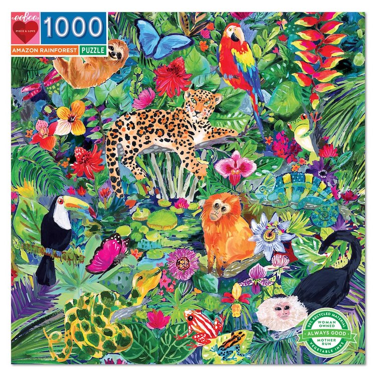 Puzzle 1000 pièces Amazon Rainforest