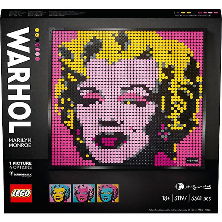 LEGO Art Andy Warhol Marilyn Monroe