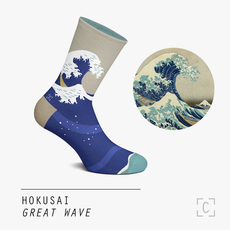 Chaussettes The Great Wave