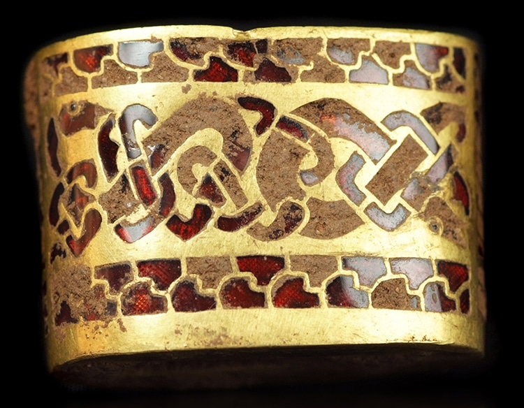 Bracelet Staffordshire Hoard Or Anglo-saxon